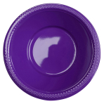 10 Bowls Plastic Purple 355 ml