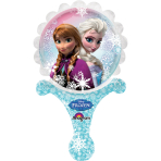 Inflate-A-Fun Frozen Foil Balloon A05 Packaged 21 x 35 cm