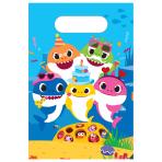 8 Lootbags Baby Shark Paper 23,4 x 16,2 cm