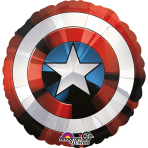 "Jumbo ""Avengers Shield"" Foil  Balloon, P38, packed, 71 x 71 cm"