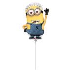 Mini Shape Despicable Me Foil Balloon A30 Air Filled