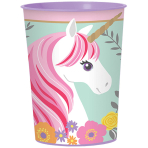 Cup Magical Unicorn Plastic 473 ml