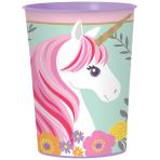 Cup Magical Unicorn Plastic 473 ml