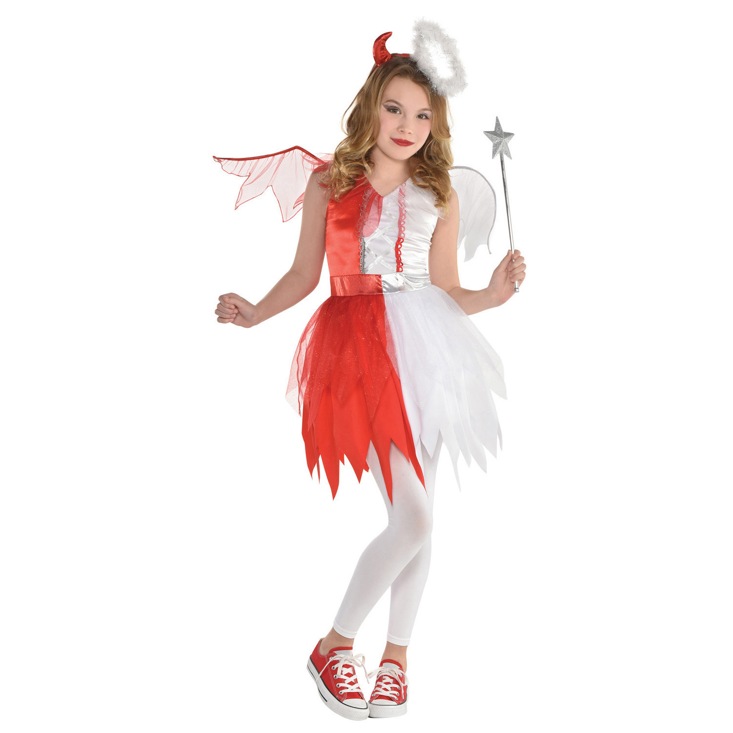 Child Costume Devil Angel Age 8 10