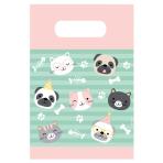 8 Paper Bags Hello Pets