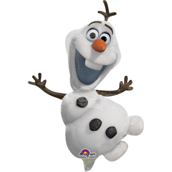 Mini Shape Frozen Olaf Foil Balloon A30 Bulk