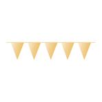 Pennant Banner Gold Plastic 1000 x 32 cm