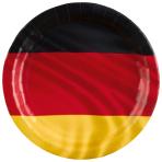 8 Plates Germany Paper 23 cm