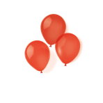 100 Latex Balloons Red 22.8 cm/9''