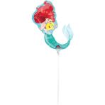 """Mini Shape """"Ariel Dream Big"""" Foil Balloon, A30, airfilled, 22 x 30 cm"""