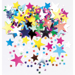 Confetti Starburst Metallic Foil 14 g