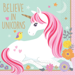 16 Napkins Magical Unicorn 25 x 25 cm