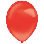 "50 Latex Balloons Decorator Crystal Apple Red 35 cm / 14"""