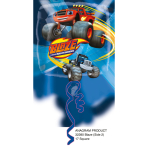 "Standard ""Blaze and the Monster Machines"" Foil Balloon Square, S60, packed, 43cm"