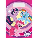 8 Party Bags My Little Pony - 2017 Plastic 23.4 x 16.2 cm