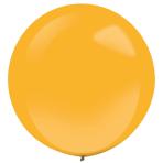 "4 Latex Balloons Decorator Fashion Orange Peel 61 cm / 24"""