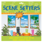 3 Scene Setter Add-Ons Window View Plastic 67.3 x 85 cm