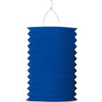 Drop Lantern Blue Paper 28 cm