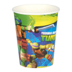 8 Cups Teenage Mutant Ninja Turtles 266 ml