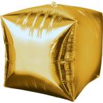 Cubez Gold Foil Balloon G20 Bulk 38 x 38 cm