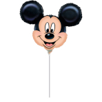Mini Shape Mickey Mouse Foil Balloon A30 Air Filled