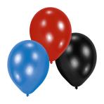 10 Latex Balloons Boys 22.8 cm/9''