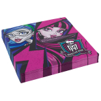 20 Napkins Monster High 2 33 x33 cm