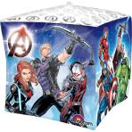 "Cubez ""Avengers"" Foil Balloon,G40,packed, 38 x 38cm"