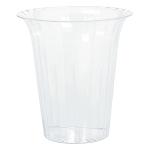 Cylinder Flared Plastic Round Large 17.8 x 19.3 cm