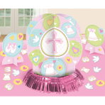Table Decoration Kit Mi primera Communion Pink 23 Pieces