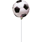 9'' Championship Soccer Foil Balloon A15 Air Filled