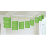 Lantern Garland Kiwi Green Paper 365 cm