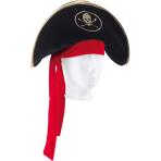 Hat Pirate Lady Fabric One Siz