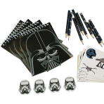Stationary-Set Star Wars 20 pcs, Notepads, Pencils, Erasers, Stickers