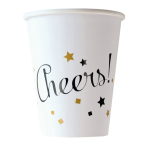 8 Cups Golden Wishes Paper 250 ml