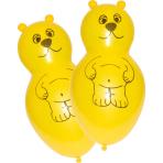 "4 Latex Balloons Shapes Bear 66 cm / 26"""