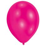50 Latex Balloons Standard HotPink 25.4 cm/10''