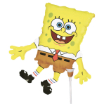 Mini Shape SpongeBob SquarePants Foil Balloon A30 Air Filled