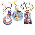 """6 Deco Swirls """"Yo-kai Watch"""""""