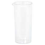 6 Mini Pitchers Plastic Clear 221 ml