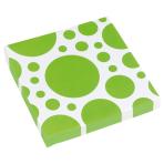 20 Napkins Kiwi Dots 33 x 33 c