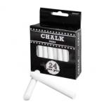 24 Chalks Wedding Signs White 8.5 cm