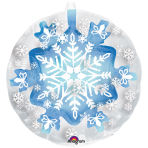 "Insider""Snowflake"" Foil Balloon P60, packed, 60x60 cm"