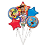 Bouquet Toy Story 4 Foil Balloon P75 Packaged
