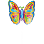 Mini Shape Bright Butterfly Foil Balloon A30 Air Filled