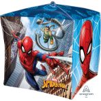 "Cubez ""Spider-Man"" Foil Balloon  , G40, packed, 38 x 38cm"