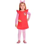 Children's costume Peppa Dress 2-3 years