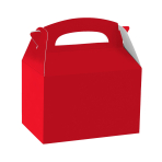 Party Box Apple Red Paper