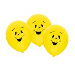 "6 Latex Balloons Sunny 22.8 cm / 9"""