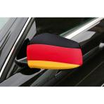 2 Flags Car Germany Fabric 14 x 23 cm